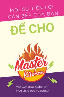 Banner Thiết bị bếp nhập khẩu Master Kitchen