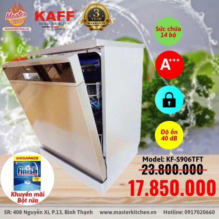 Máy rửa chén Kaff Kf S906tft 4
